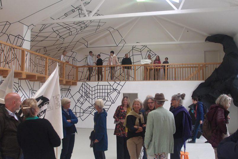 Eröffnung einer Ausstellung