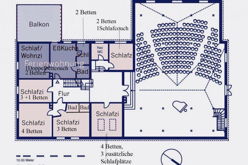 Haupthaus Obergeschoss