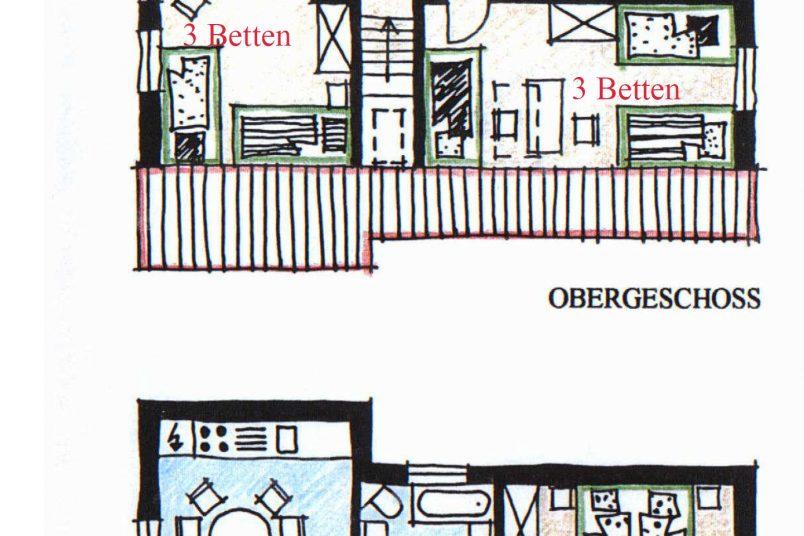 Ferienhaus Plan
